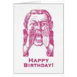 Feliz aniversario! cartão