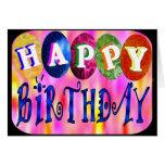 Feliz aniversario cartao