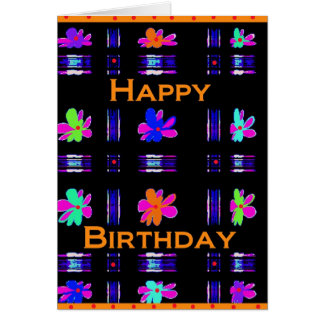 Feliz aniversario! cartão comemorativo