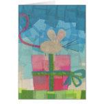 Feliz aniversario, cartão de aniversário pequeno d