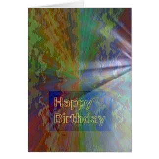 Feliz aniversario coleção do março de 2012 cartão comemorativo