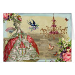 Feliz aniversario do de Versalhes das lembranças Cartão Comemorativo