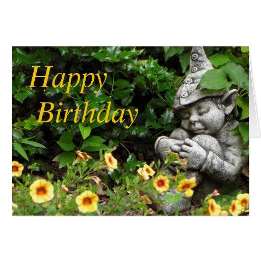 gnomos de jardim venda : gnomos de jardim venda:Happy Birthday Garden Gnome