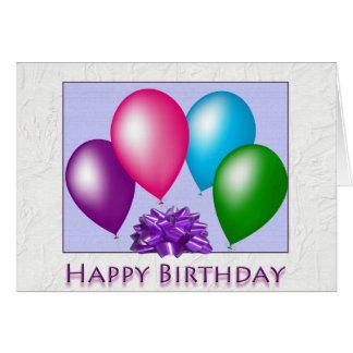 Feliz aniversario dtodos nós cartão comemorativo