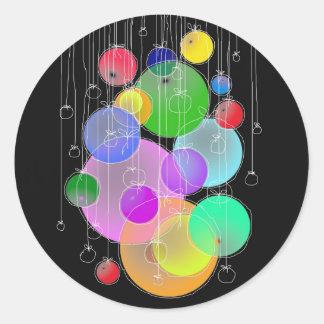 Feliz aniversario & Feliz Natal… Adesivo