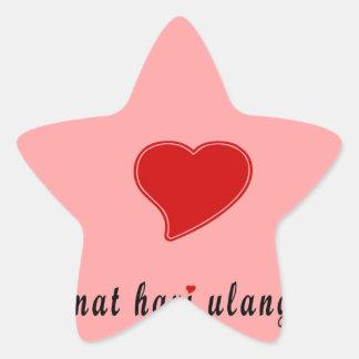 feliz aniversario Indonésia Adesito Estrela