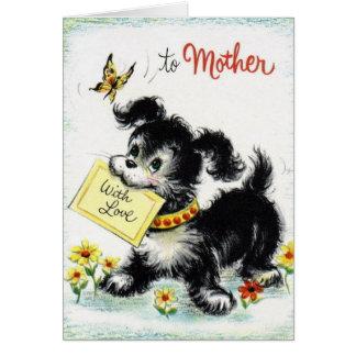 Feliz aniversario - mãe cartão comemorativo