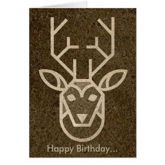 Feliz aniversario… meu caro cartão