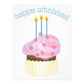 Feliz aniversario! papeis de carta personalizados