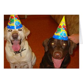 Feliz aniversario Prima e Jake Cartão Comemorativo