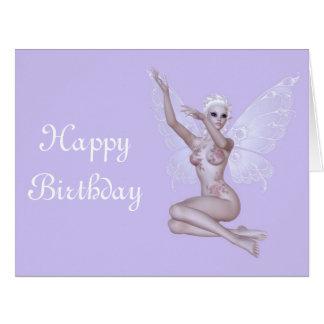 """Feliz aniversario """"sexy"""" do país das fadas mágico  cartões"""