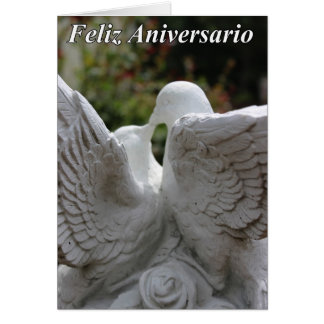 Feliz Anniversario #2 Cartão Comemorativo