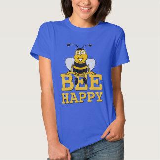 Feliz Bumble a abelha T-shirt