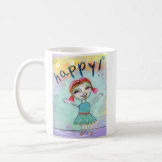 Feliz! Caneca De Café