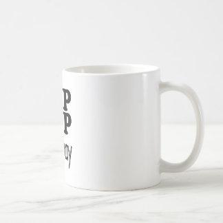 feliz caneca de café