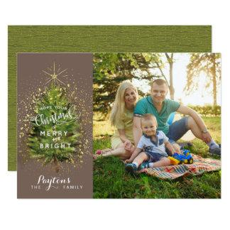 Feliz + Cartão brilhante, com o envelope incluído