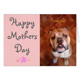 Feliz dia das mães cartao