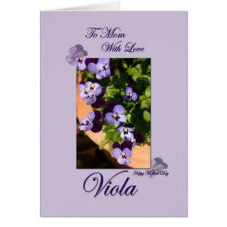 Feliz dia das mães cartão comemorativo