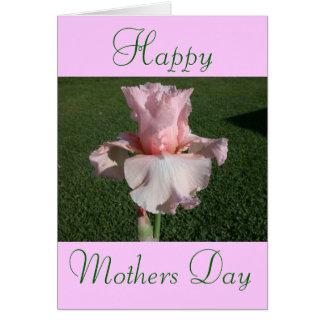 Feliz dia das mães! cartão comemorativo