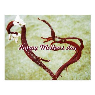 Feliz dia das mães do cartão cartão postal