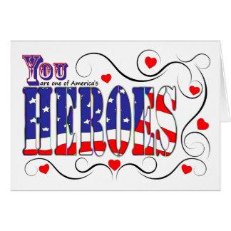 Feliz dia dos namorados a um dos heróis de América Cartão