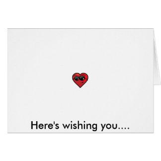 Feliz dia dos namorados! cartão