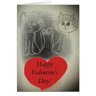 Feliz dia dos namorados! cartão comemorativo
