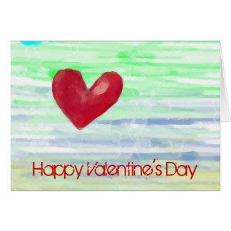 Feliz dia dos namorados cartão comemorativo