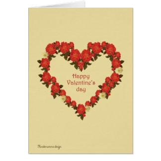 Feliz dia dos namorados cartão de nota