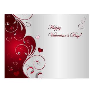 Feliz dia dos namorados cartão postal