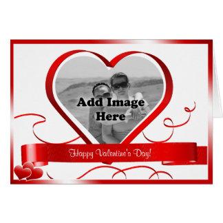 Feliz dia dos namorados! Modelo da foto Cartão