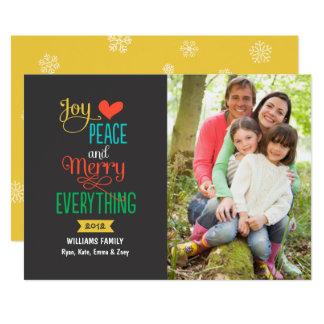 Feliz do cartão de cartões de natal | da foto tudo