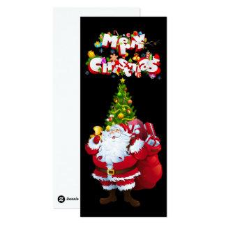 "Merry Christmas 4""x9.25"" Invitation / Flat Card"