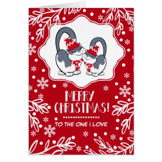 Feliz Natal ao um amor de I. Cartões