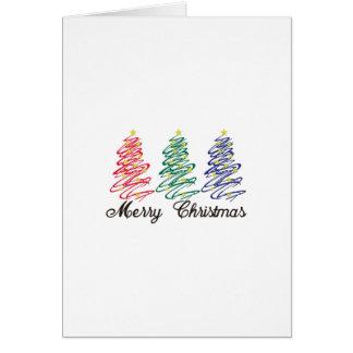 Feliz Natal Cartão Comemorativo