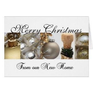 Feliz Natal - cartão de Natal novo do endereço