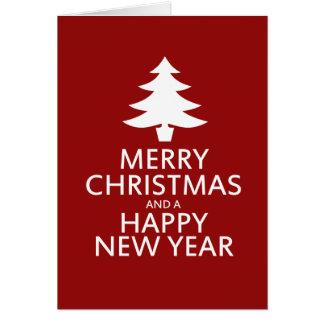 Feliz Natal Cartão De Nota