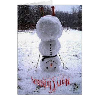 Feliz Natal & cartão do feliz ano novo
