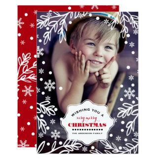 Feliz Natal. Cartões com fotos lisos do feriado