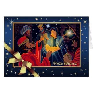 Feliz natal. Cartões de Natal portugueses
