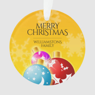 Feliz Natal com os ornamento festivos do feriado
