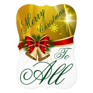 Feliz Natal de Bels do ouro a todo o cartão do