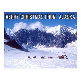 Feliz Natal do cartão de Alaska