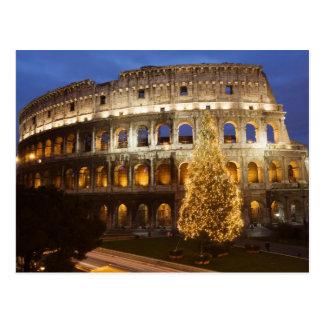 Feliz Natal do cartão de Roma