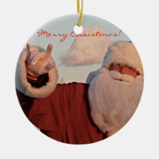 Feliz Natal do ORNAMENTO do PAPAI NOEL!