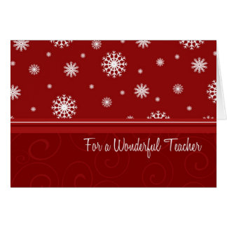 Feliz Natal dos flocos de neve para o cartão de pr