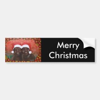 Feliz Natal dos meninos do interior Adesivos