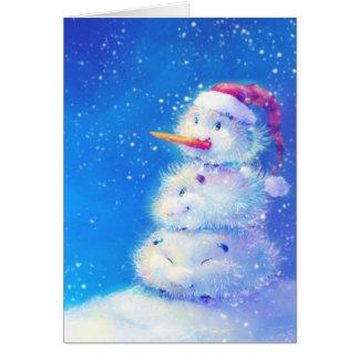 Feliz Natal e feliz ano novo 2014 Cartão Comemorativo