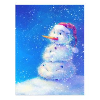 Feliz Natal e feliz ano novo 2014 Cartão Postal