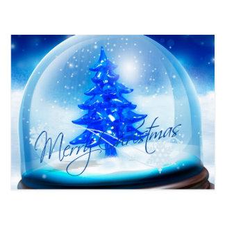 Feliz Natal e feliz ano novo Cartoes Postais